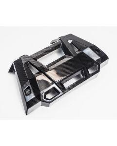 Agency Power Carbon Fiber Exhaust Shield Polaris RZR XP 1000 | Turbo 14-18