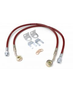 JKS Manufacturing HD Extended Brake Line - TJ and ZJ
