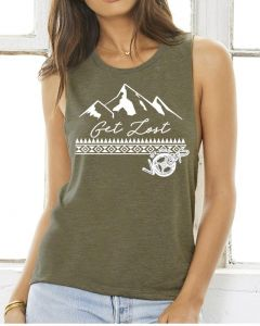 Off-Road Vixens Get Lost Muscle Tank