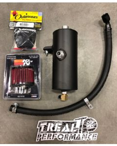 Treal Performance Oil Catch Can - Breather System - 2017-2019 Can-Am Maverick X3