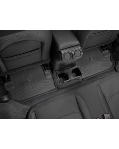 WeatherTech FloorLiner - 2nd Row - Black - 2018-2020 Jeep Wrangler JL 2-Door