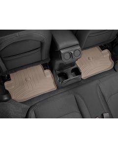 WeatherTech FloorLiner - 2nd Row - Tan - 2018-2020 Jeep Wrangler JL 2-Door