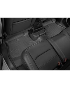 WeatherTech FloorLiner - 2nd Row - Black - 2018-2020 Jeep Wrangler JLU 4-Door