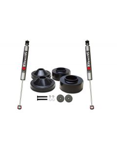 Skyjacker 2in. Front 3/4in. Rear Polyurethane Spacer Leveling Kit with M95 Monotube Shocks - 07-18 Jeep JK