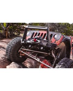 Artec Industries JK Front Bumper Rock Guard - Aluminum - Jeep Wrangler JK 2007-2018