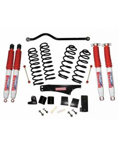 Skyjacker 3.5in. Softride Coil Spring Lift Kit with Hydro Shocks - 07-18 Jeep JK