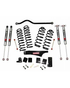 Skyjacker 3.5in. Softride Coil Spring Lift Kit with M95 Performance Monotube Shocks - 07-18 Jeep JK