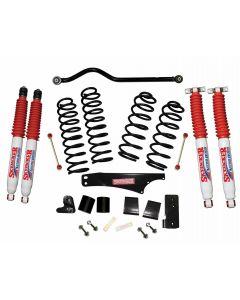 Skyjacker 3.5in. Softride Coil Spring Lift Kit with Nitro Shocks - 07-18 Jeep JK