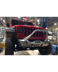 Artec Industries JL NightHawk Front Bumper W/Mid Tube Stinger Bare - Jeep Wrangler JL 2018-2019