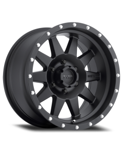 Method Race Wheels MR301 The Standard, 15x7, -6mm Offset, 5x4.5, 83mm Centerbore, Matte Black