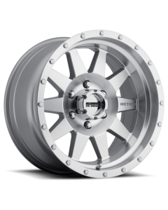 Method Race Wheels MR301 The Standard, 15x7, -6mm Offset, 5x4.5, 83mm Centerbore, Machined/Clear Coat