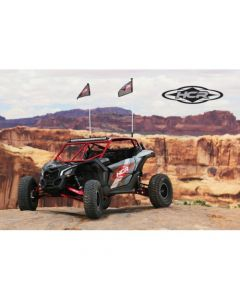 "HCR Can-Am Maverick X3 MAX 4 Seat X RS 72"" OEM Dualsport HD Factory Replacement Kit long Travel Kit"