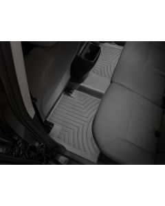 WeatherTech FloorLiner - 2nd Row - Black - 2016-2020 Toyota Tacoma - Automatic 4-Door