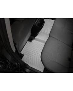 WeatherTech FloorLiner - 2nd Row - Grey - 2016-2020 Toyota Tacoma - Automatic 4-Door