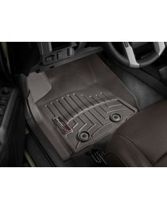 WeatherTech FloorLiner - 1st Row - Cocoa - 2016-2020 Toyota Tacoma - Automatic