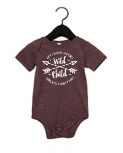 Off-Road Vixens Wild Child Onesie