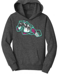 Off-Road Vixens Youth Mountain Vision Pullover Hoodie
