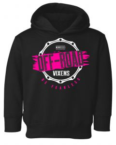 Off-Road Vixens Youth Toddler Fearless Hoodie
