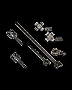 Nitro Gear HD Chromoly Front Axle Kit -  Mahindra Roxor
