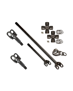 Nitro Gear HD Chromoly Front Axle Kit w/ 760 Excalibur U-Joints - Mahindra Roxor