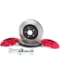Alcon Brakes 4 Piston Big Brake Kit - Front - 2007-2018 Jeep Wrangler JK JKU