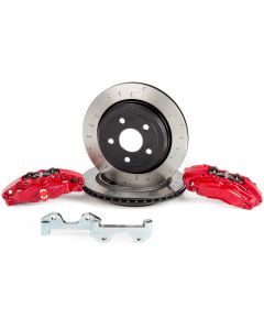 Alcon Brakes 4 Piston Big Brake Kit - Rear - 2007-2020 Jeep Wrangler JK JKU JL JLU