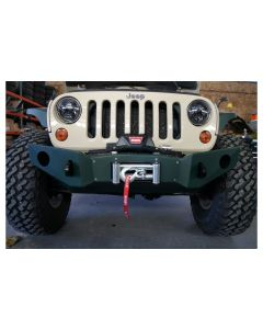 Nemesis Voyager Mid Width Front Bumper 07-15 Jeep JK
