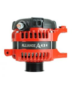 Alliance 4X4 High Amperage RED Alternator 2007-2011 Jeep Wrangler 3.8L