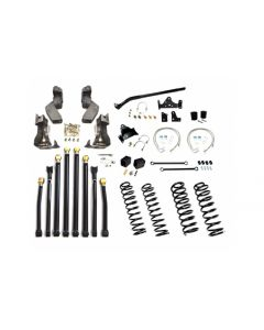 EVO 3inch Double D Long Arm Kit - 2007-2018 Jeep Wrangler JK