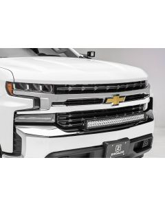 ZROADZ Front Bumper LED Bar Mount Bracket for 30in Curved Light - 2019-2020 Chevrolet Silverado 1500