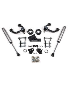 BDS Suspension 3.5in Uper Control Arm Lift Kit - 2019 Ford Ranger
