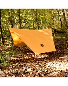Ultimate Survival Technologies BASE Hex Tarp 108 inches by 96 inches in Orange