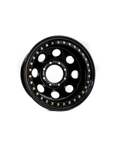 Battle Born Wheels Gatekeeper Beadlock - 15in - Black