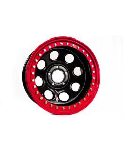 Battle Born Wheels Gatekeeper Beadlock - 17in - Red