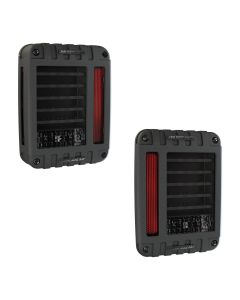 J.W. Speaker - 6x8 LED Tail Lights - Model 279 J Series - 2007-2020 Jeep Wrangler JK JKU JL JLU