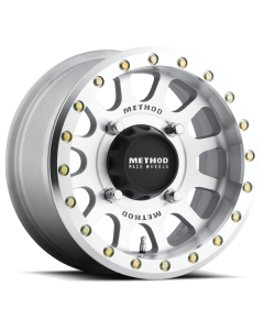 Method Race Wheels MR401 UTV Beadlock - 14in Wheel - Raw Machined