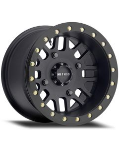 Method Race Wheels MR406 UTV Beadlock - 14in Wheel - Matte Black