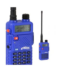 Rugged Radios RH-5R 5-Watt Dual Band (VHF/UHF) Handheld Radio