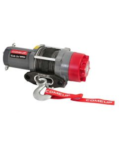 ComeUp Winch Cub 3s ATV/UTV 12V Winch - Synthetic Rope