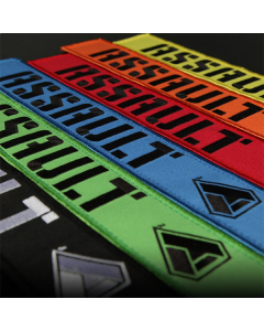 Assault Industries 2 Inch Race Harness Velcro Strap Gaurds - Set of 2